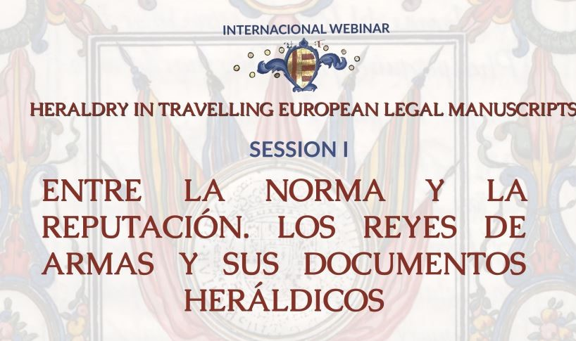 Online webminar: Heraldry in travelling european manuscripts