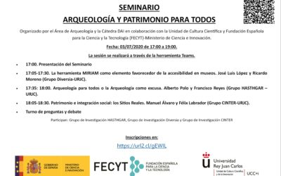 Seminario Arqueología y Patrimonio para todos