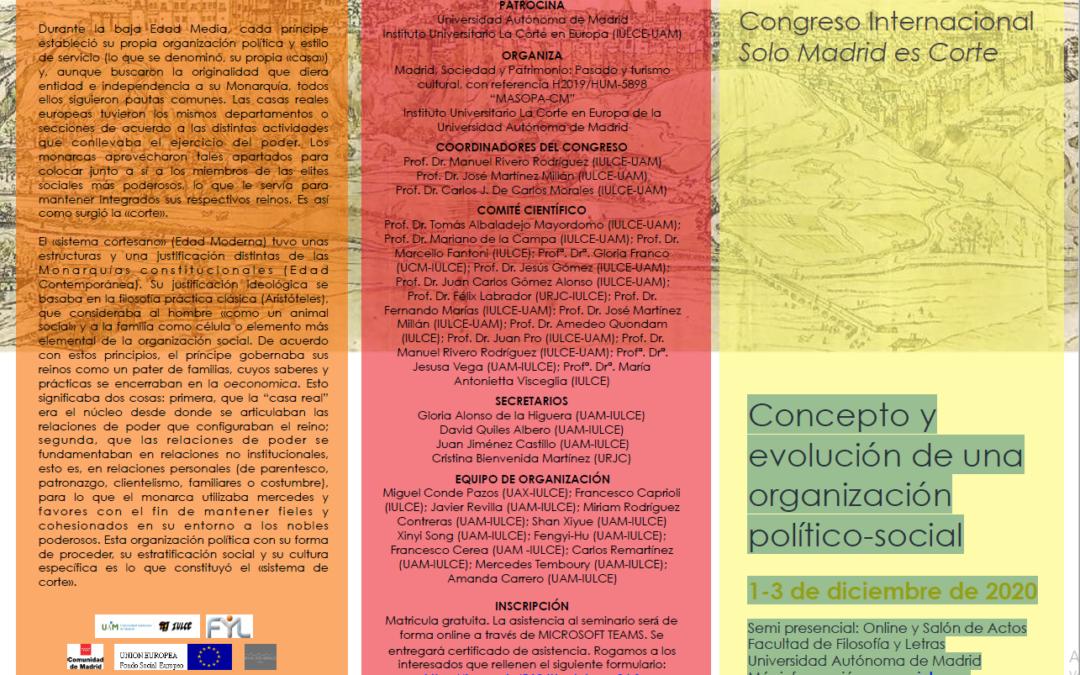 Congreso Internacional Solo Madrid es Corte