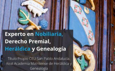 Título de experto en Nobiliaria y derecho premial, heráldica y genealogía