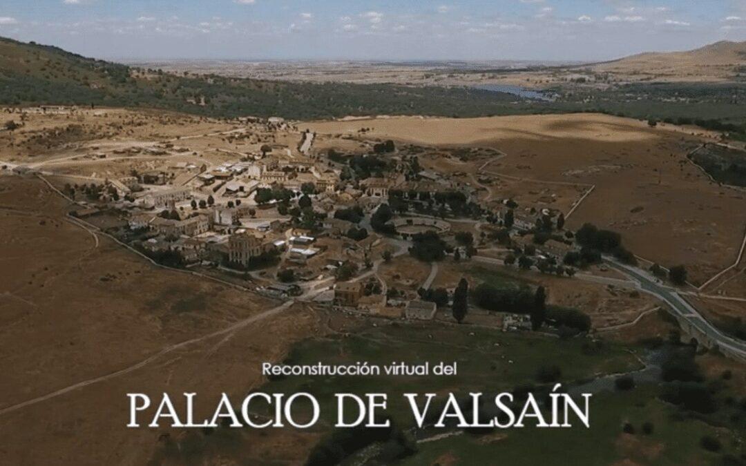 Palacio de Valsaín Reconstrucción 3D