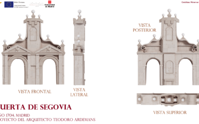 Nuevos modelos 3D de la Puerta de Segovia