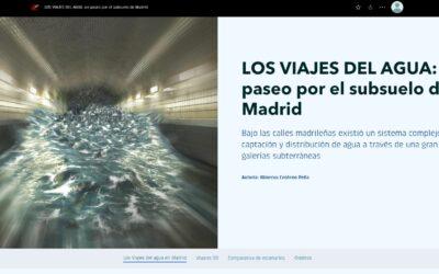 Los viajes del agua de Madrid en 3D